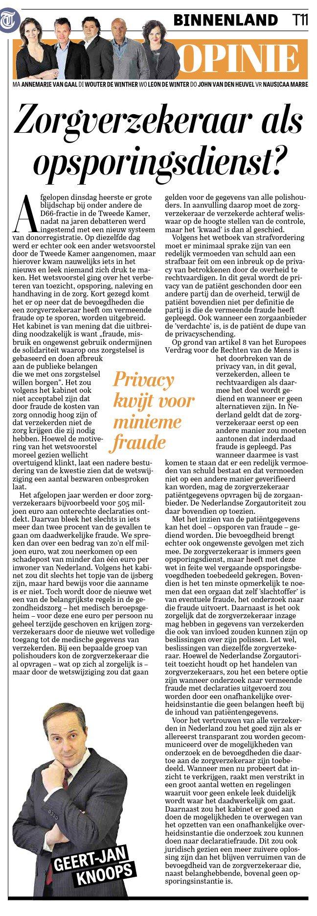 Geert-Jan-Knoops-Telegraaf